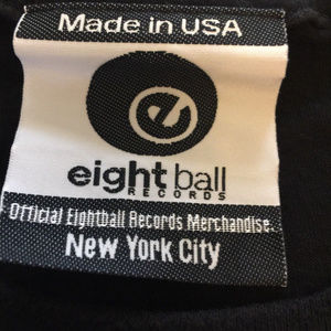 Eightball Records Shirts - Eightball Records Woodstock 69 Black XL T-Shirt